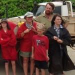 Anna and Matt and Ronya, Lotta and Torben